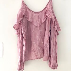 Abercrombie and Fitch Cold Shoulder Long Sleeve